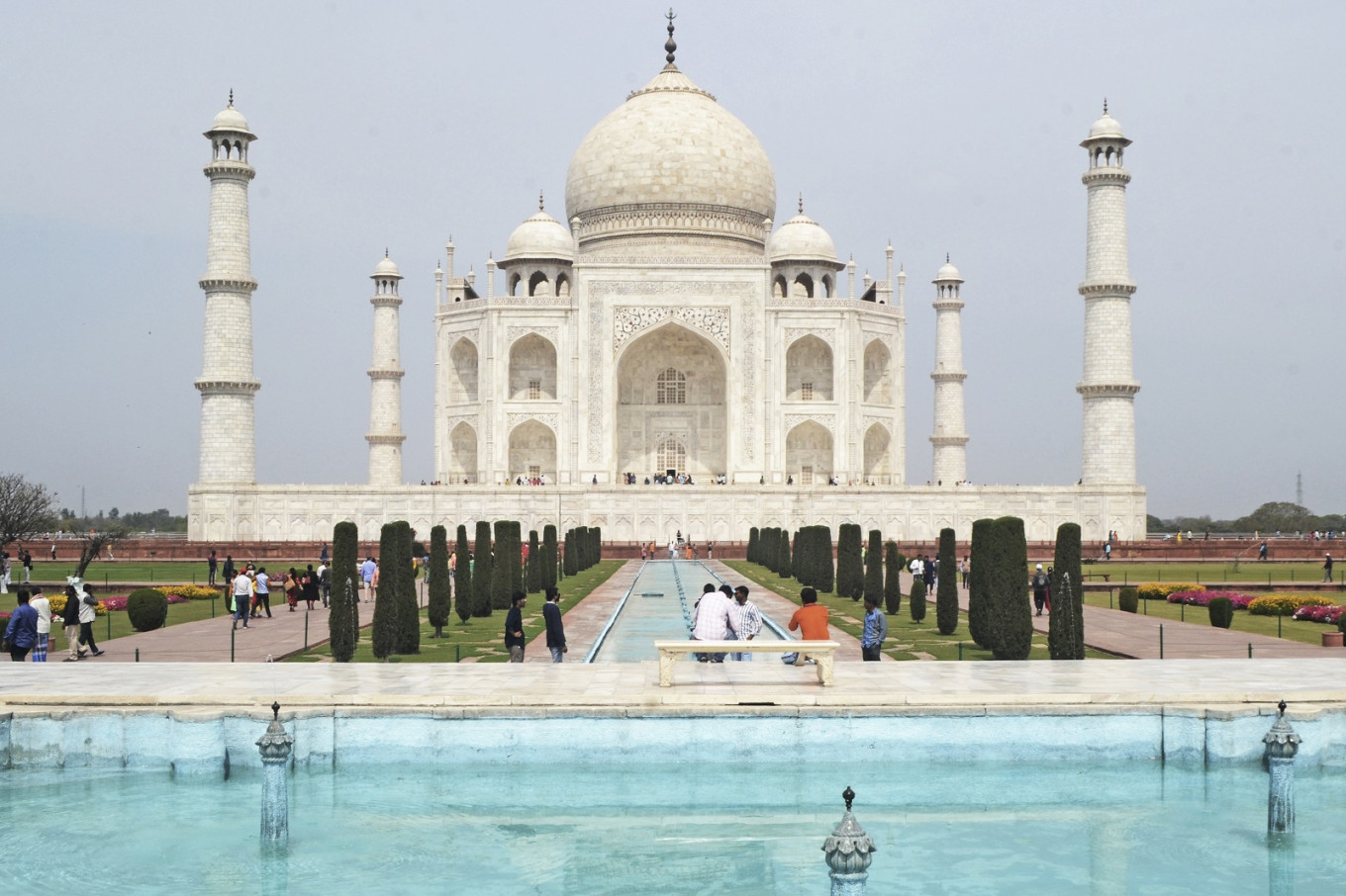 India To Reopen Taj Mahal With Social Distancing Masks News The Jakarta Post