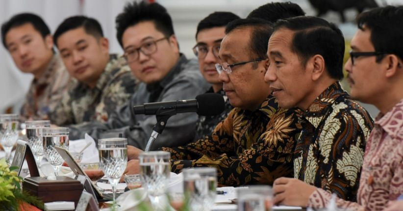 Partial lockdown was the right thing to do, Jokowi says