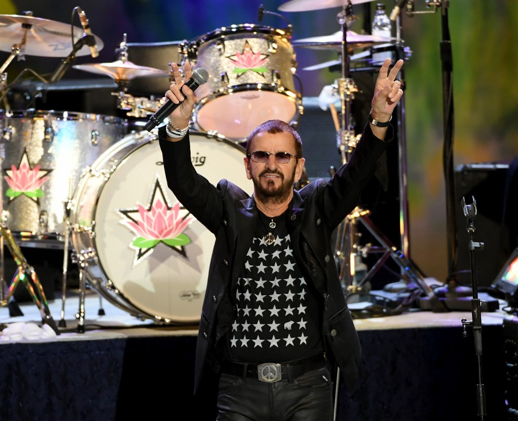 Nasa astronauts and Mars robot wish Ringo Starr happy 80th from space