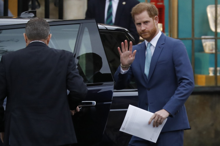 UK's Prince Harry welcomes Princess Diana interview inquiry