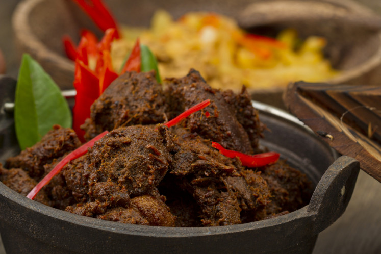 William Wongso shares his beef 'rendang' recipe