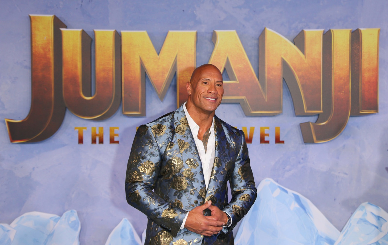 The Rock is highest-paid star on Instagram