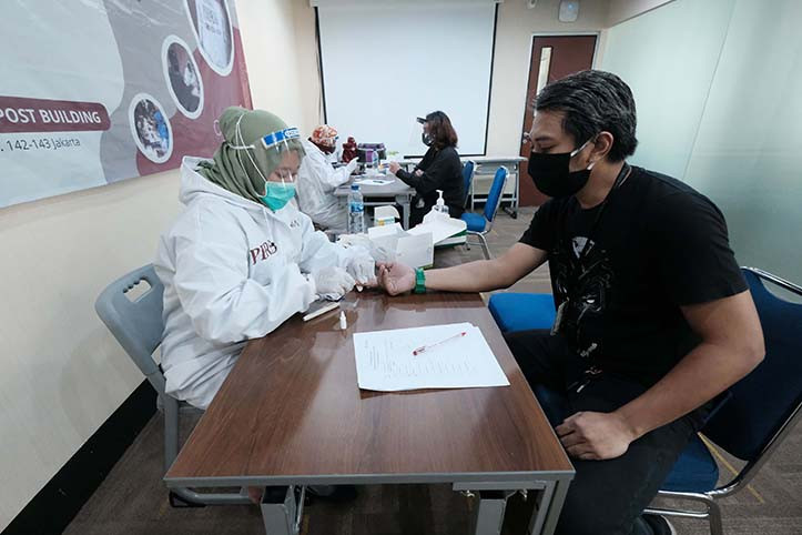 Health Ministry sets Rp 150,000 price ceiling for COVID-19 rapid tests