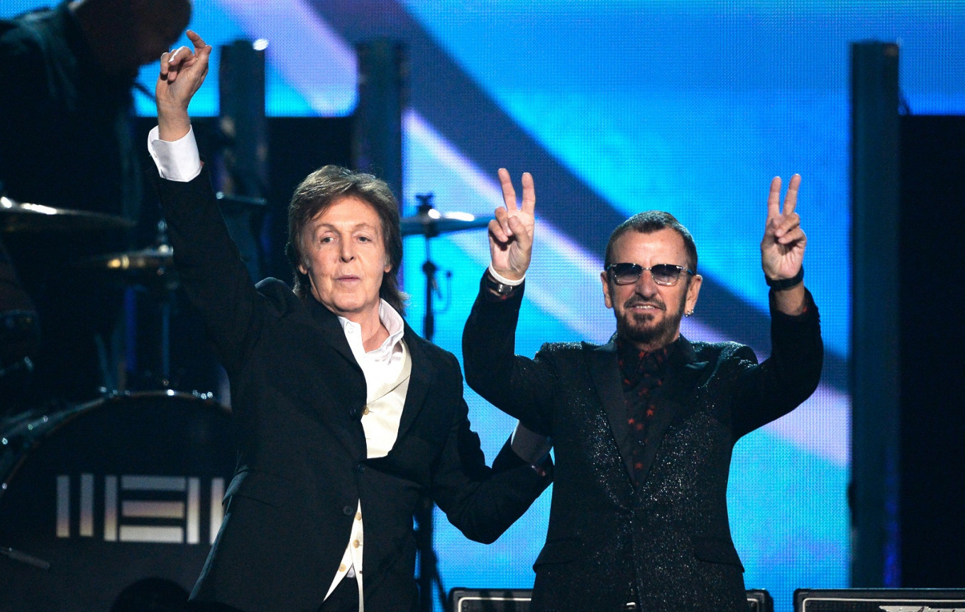 Ringo marks 80th at online gig with fellow Beatle McCartney