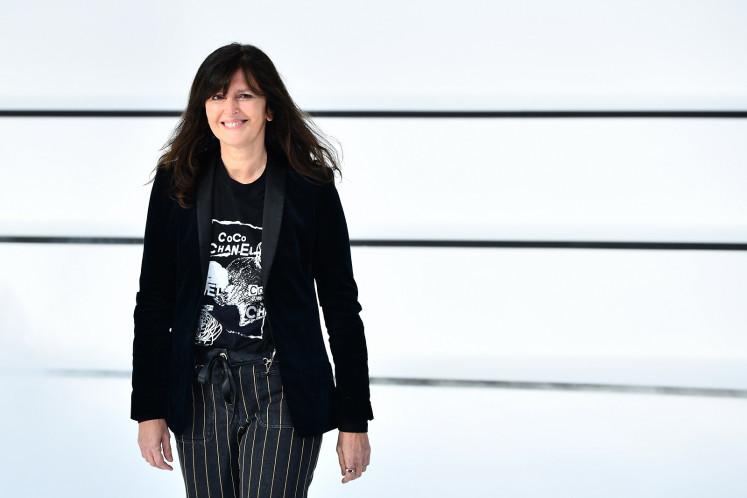 Chanel resurrects Lagerfeld's punk princesses