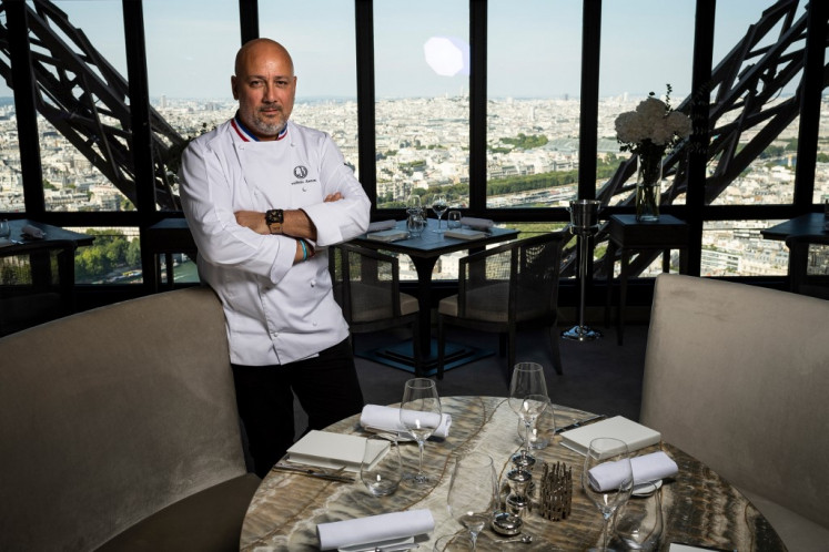 Virus won't stop Eiffel Tower high life, says top French chef