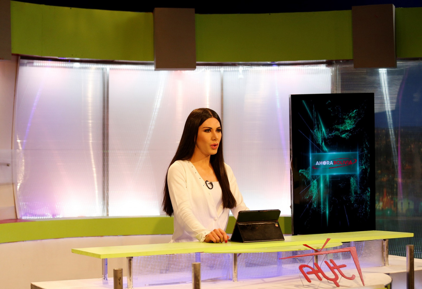 Bolivia's first transgender news anchor puts LGBTQ issues front and center