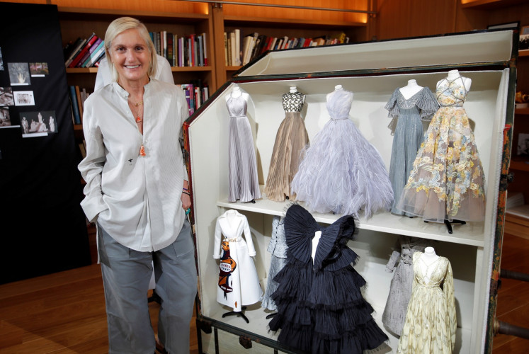 Designers get creative for couture under lockdown