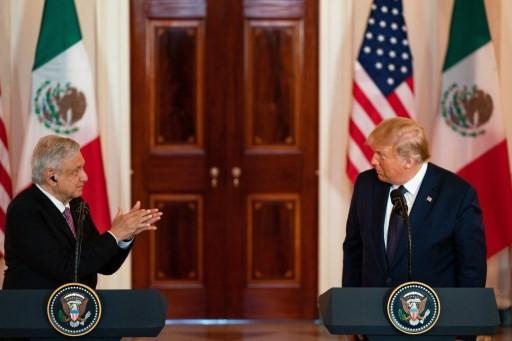 Meeting under virus cloud, US, Mexican leaders hail relations