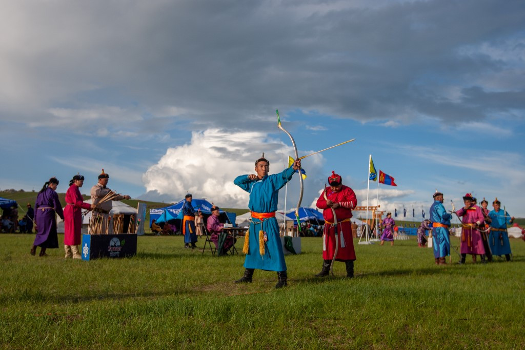 Mongolia holds traditional sports festival behind closed doors