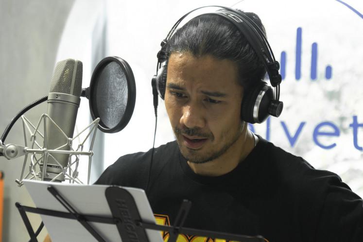 Finding one's voice: Actor Chicco Jerikho plays Diman in Pramoedya Ananta Toer's 'Berita dari Kebayoran' (News From Kebayoran),
