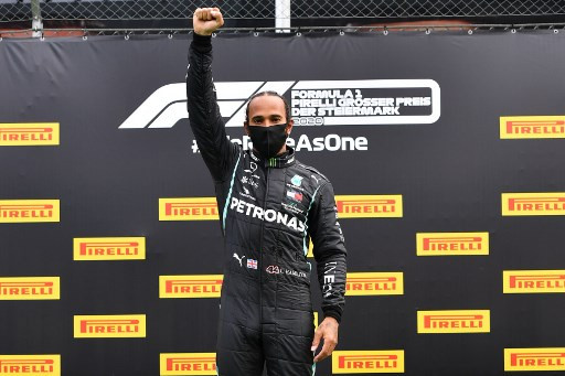 Dominant Hamilton cruises to 85th win in Mercedes one-two