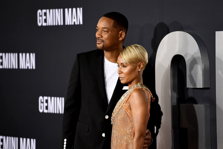 Actress Jada Pinkett Smith, wife of Will Smith, admits to past affair with August Alsina