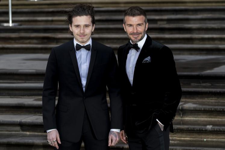 Brooklyn Beckham, son of David Beckham, is engaged to actress Nicola Peltz