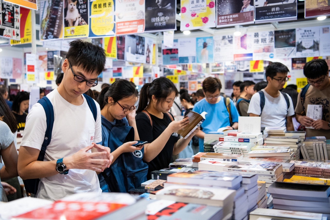 Hong Kong Book Fair postponed amid spike in coronavirus cases