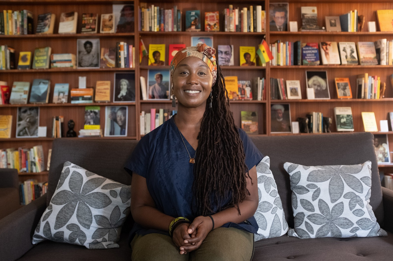 Ghana library showcases black and African literature