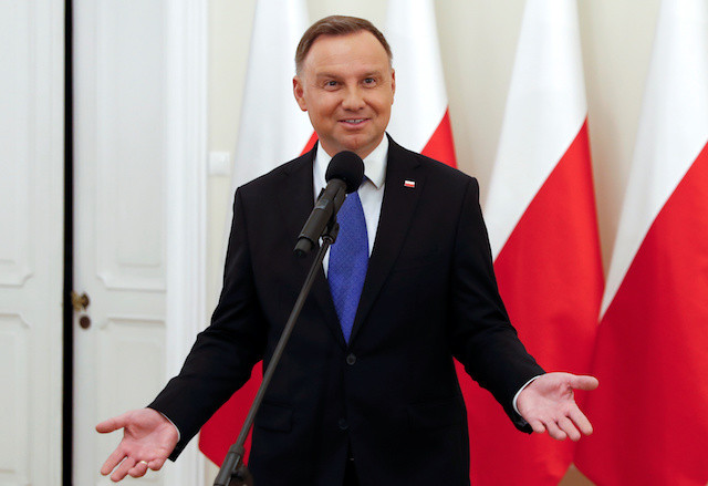 Polish conservative president's second term likely to deepen EU rifts