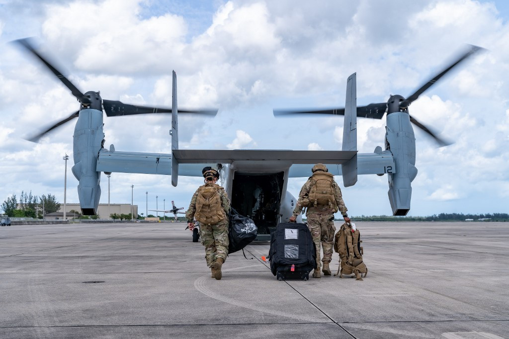 Osprey in the archipelago: The deal of MV-22 to Indonesia