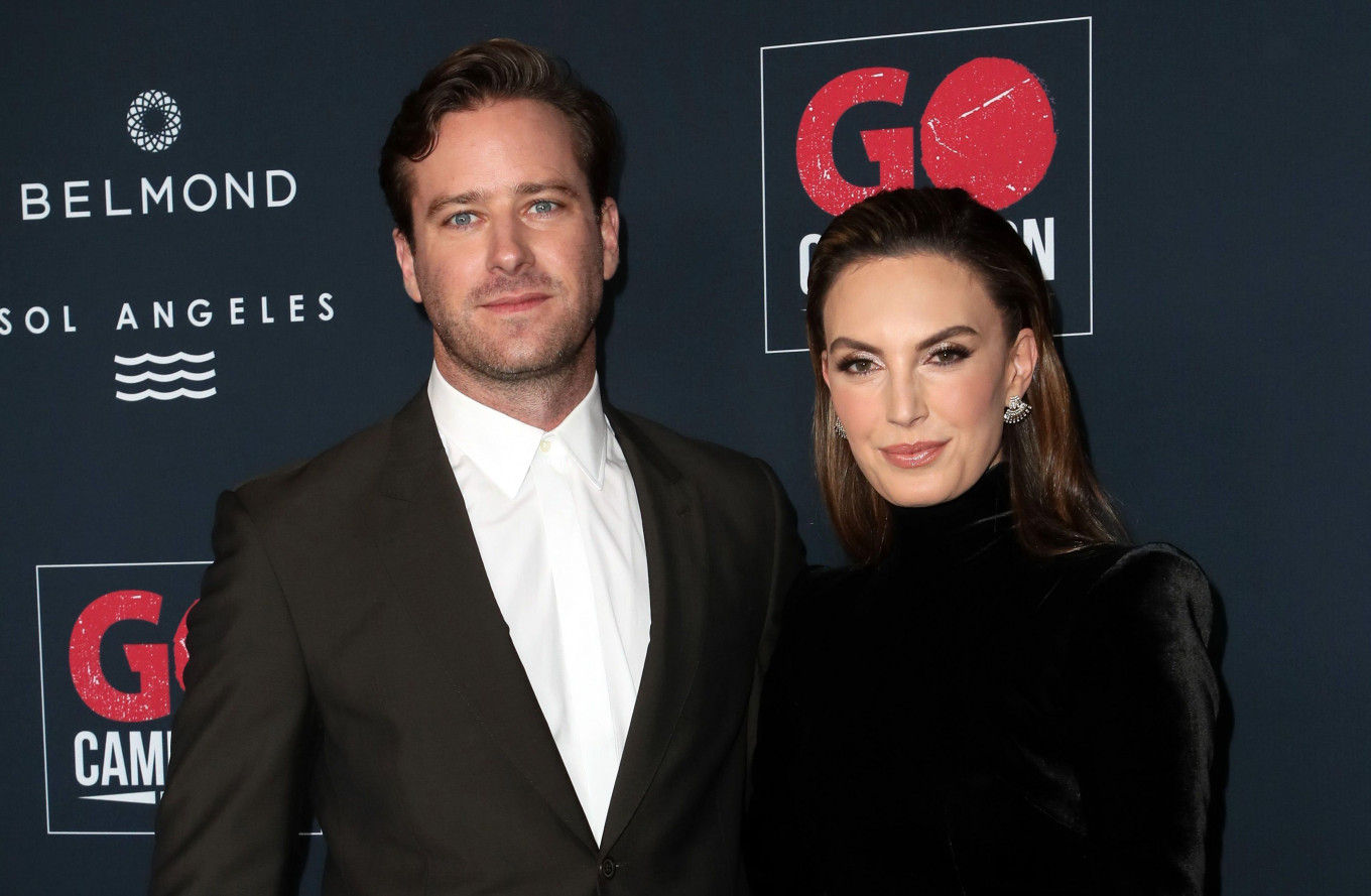 Armie Hammer, wife Elizabeth Chambers split after 10 years of marriage