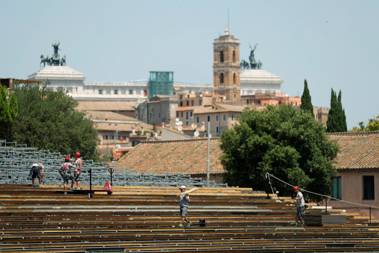 From chariot racing to opera: Verdi comes to Rome's Circus Maximus