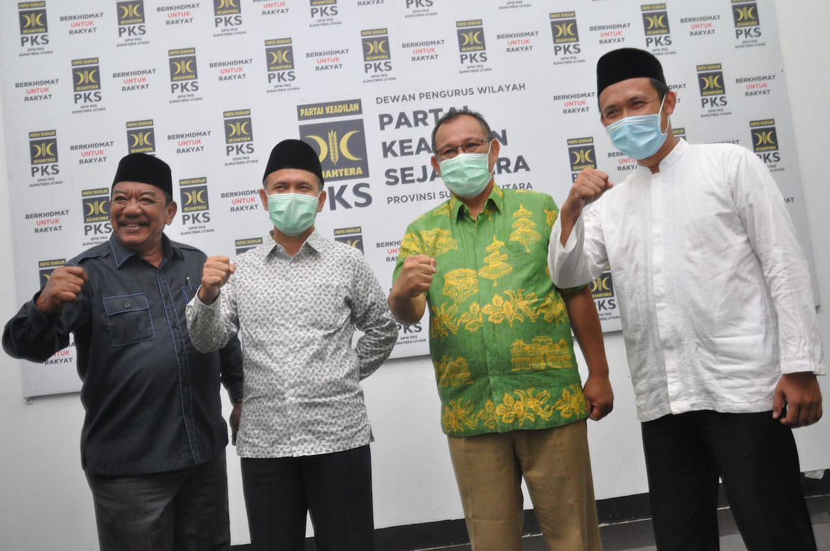 PKS backs incumbent Akhyar Nasution for upcoming Medan mayoral race