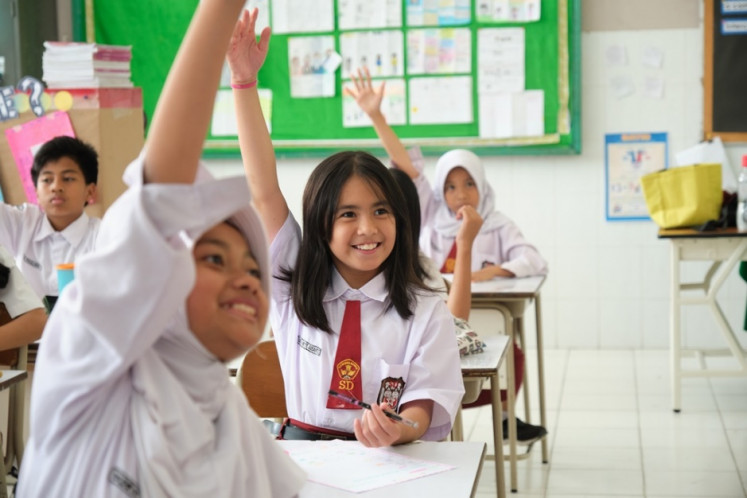 Improving human resources is a key challenge in Indonesia's development agenda.