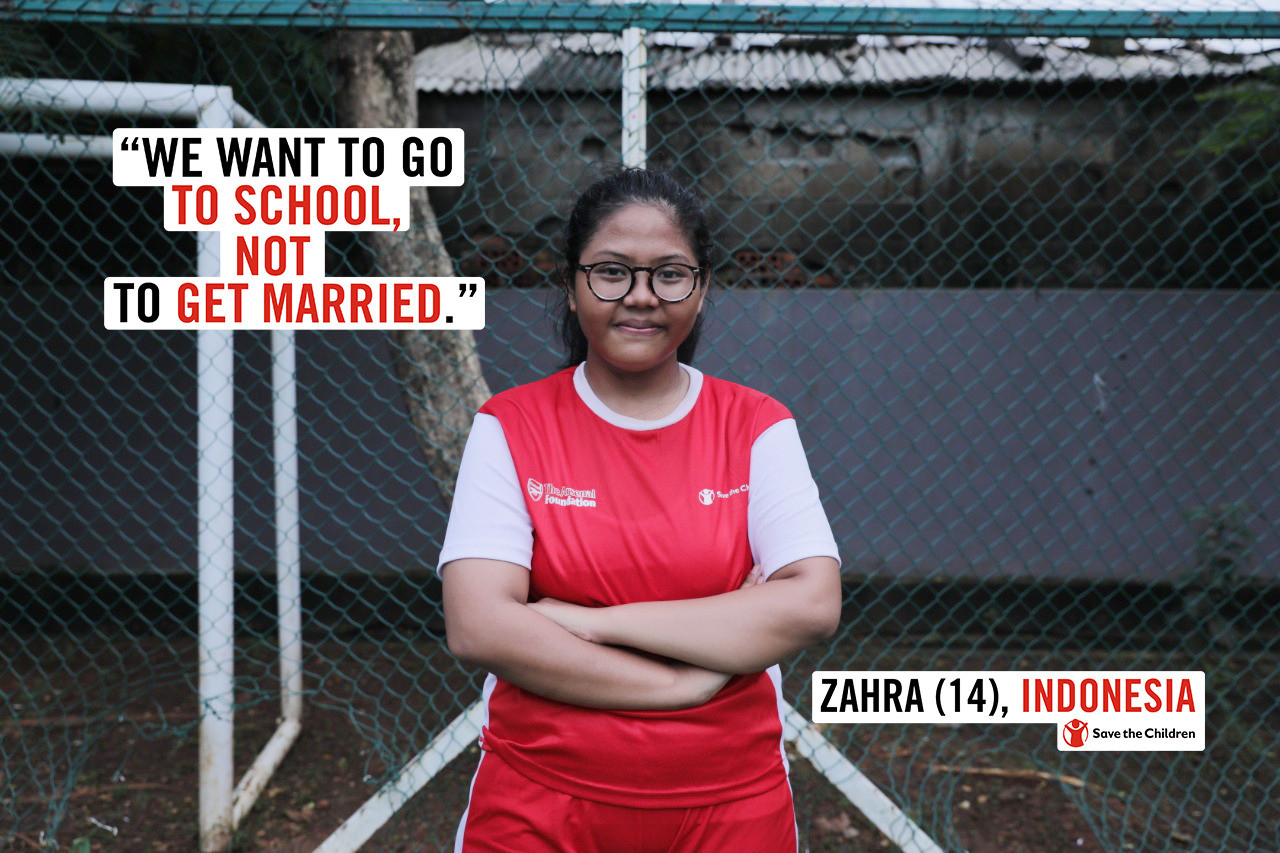 North Jakarta teen speaks about dangers of child marriage at UN event