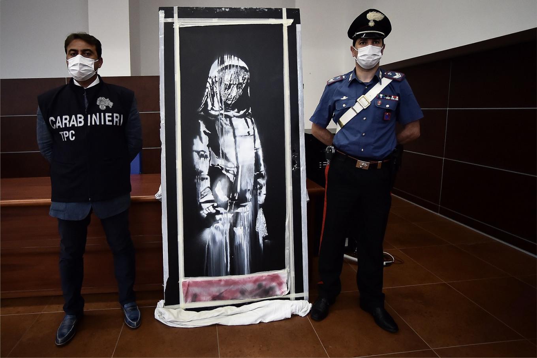 Italy returns stolen Bataclan Banksy to France