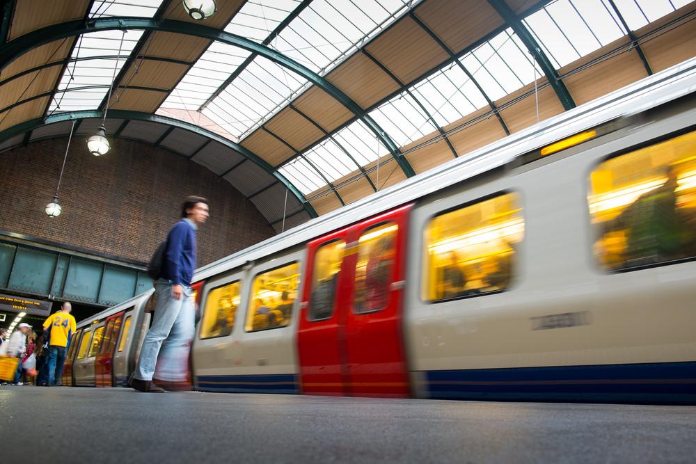 Banksy coronavirus graffiti removed from London train