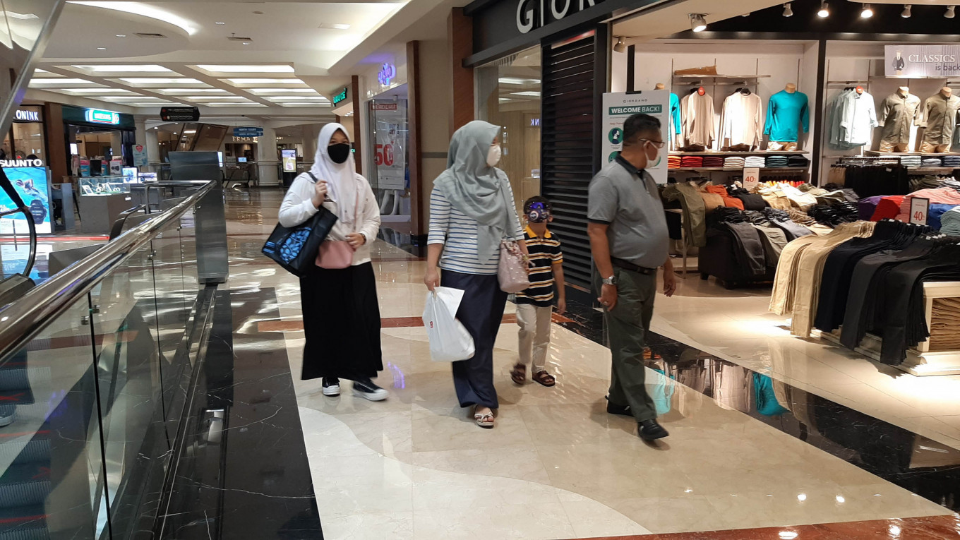 Demand for retail space in Jakarta shrinks in Q3 as PSBB hits small retailers