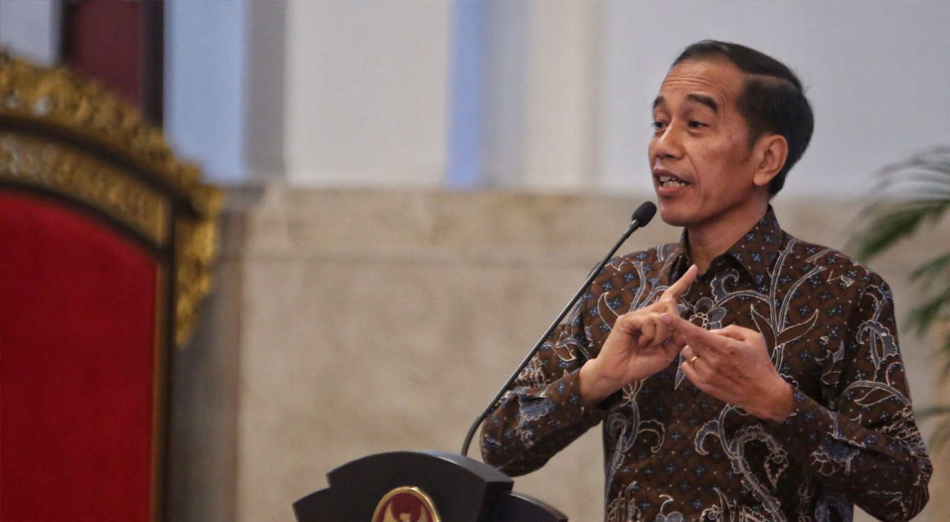 Jokowi honors fallen medical workers ahead of Independence Day