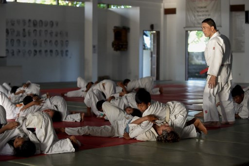 Japanese 'judo missionary' spreads the gospel in Bali