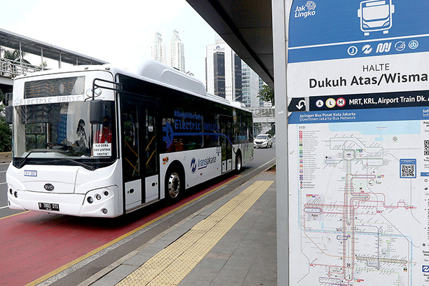 Transjakarta wants 10,000 electric buses in service by 2030