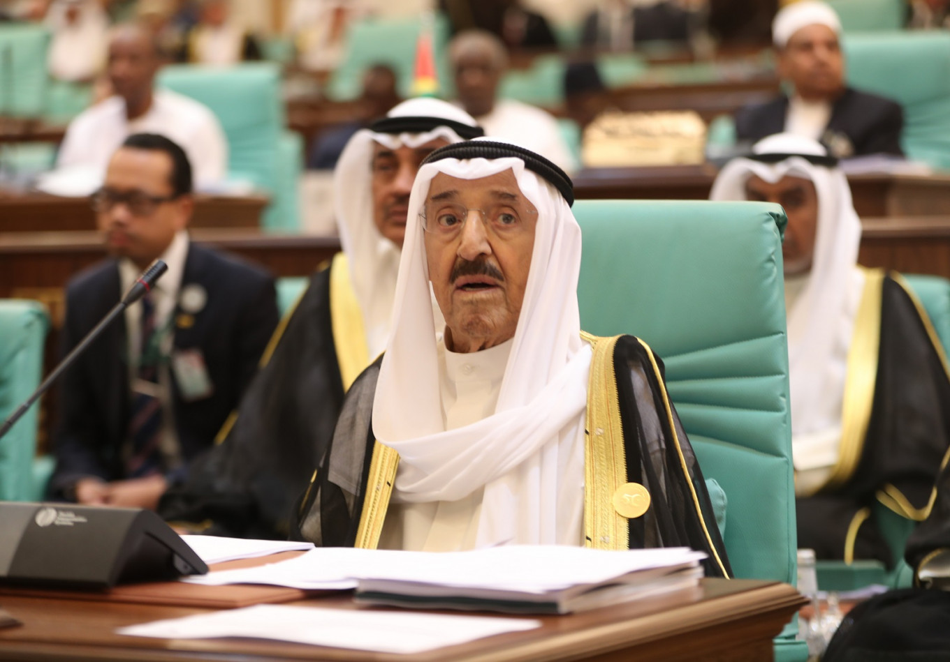 Kuwait's ruler hospitalized, crown prince steps in