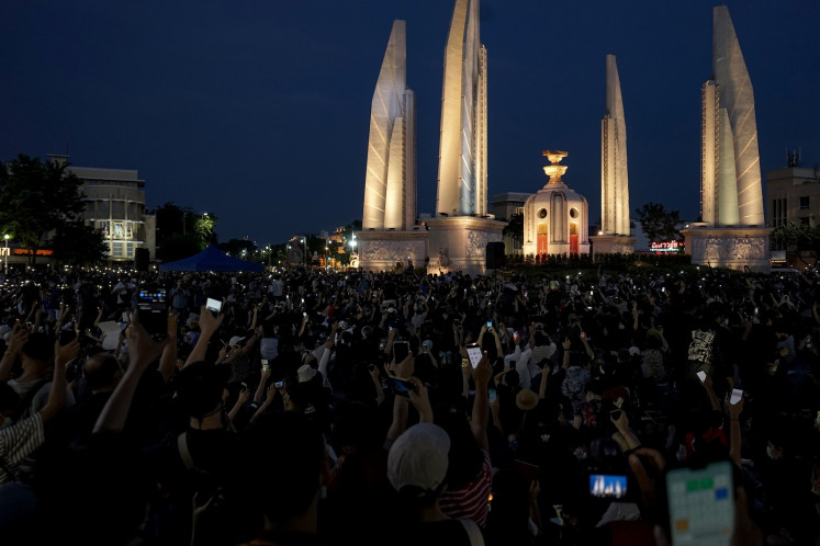 'We must fight': Thailand's youth take on the establishment