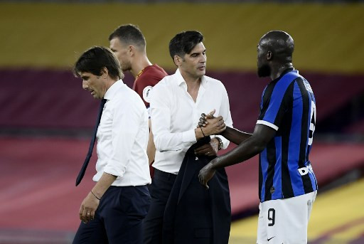 Inter Held At Roma To Leave Juventus Closer To Serie A Title Sports The Jakarta Post