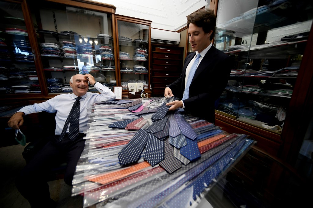Handmade ties from southern Italy with a British twist