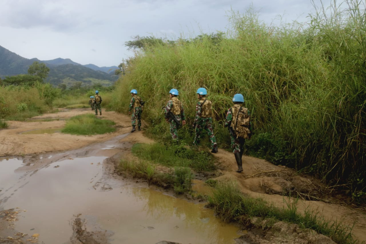 Indonesian peacekeeping contingent helps free American hostage in DR Congo
