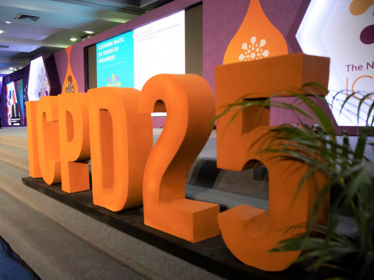 Program of action: The 25th anniversary of the landmarke International Conference of Population and Development (ICPD) was held in Nairobi in November 2019.