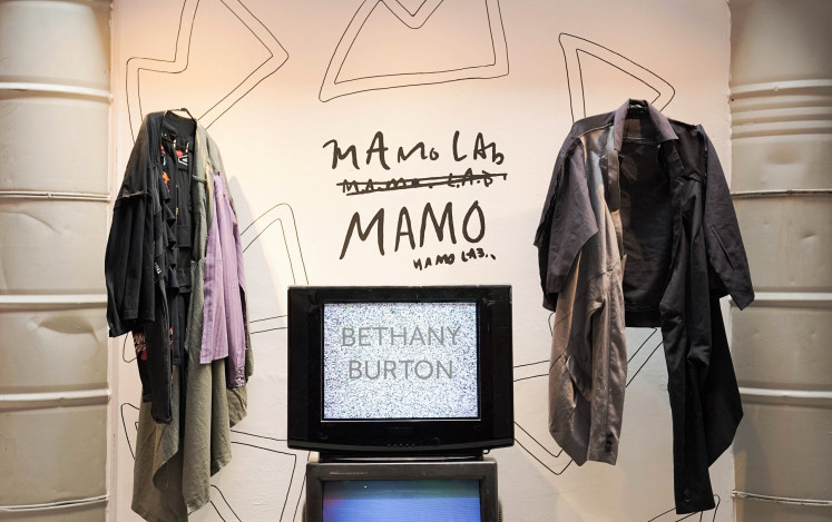 Post-fashion: American-born Bethany Burton's