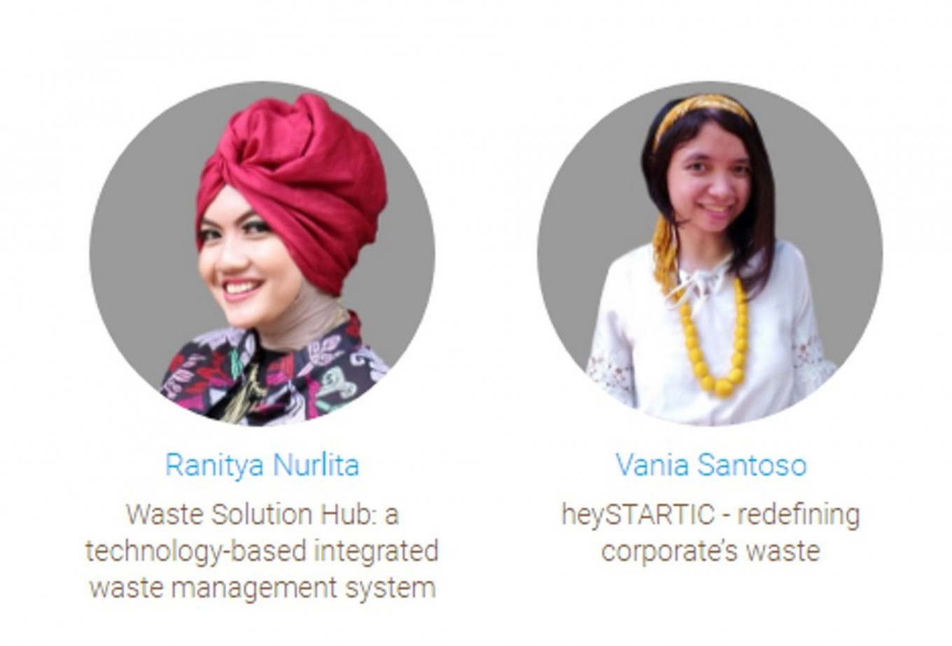 Two Indonesian finalists shortlisted for Young Champions of the Earth prize