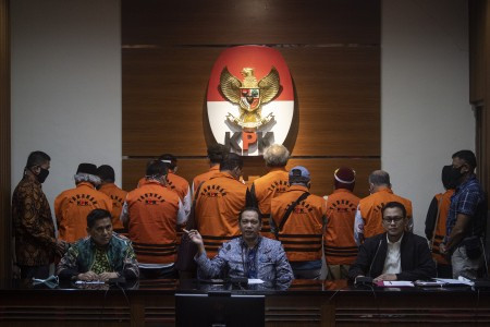 KPK nabs 11 former North Sumatra councillors for alleged bribery involving ex-governor