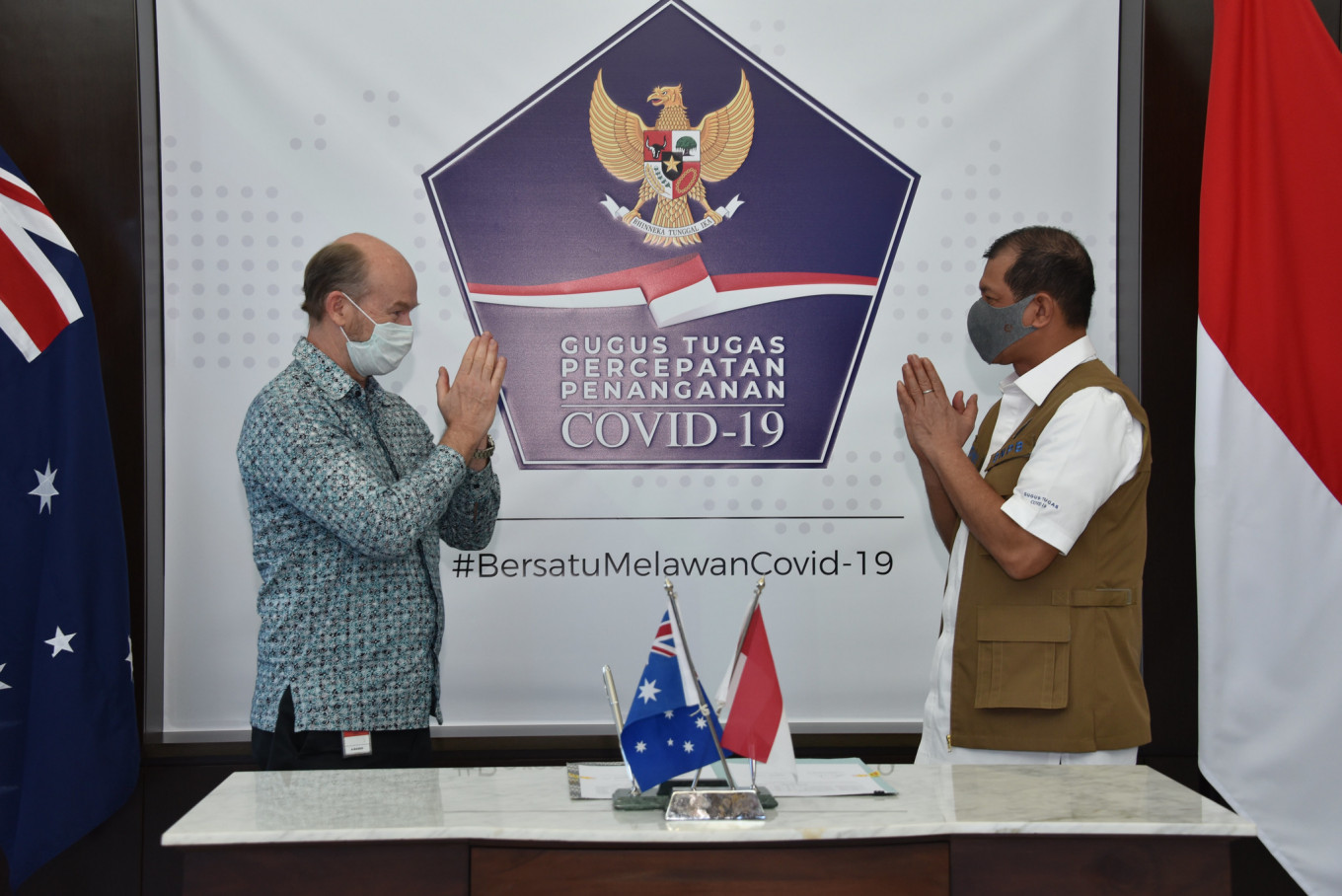 Australia, IOM donate medical equipment for Indonesia's COVID-19 effort