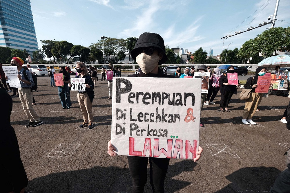 COVID-19 crisis erodes women's rights in Indonesia: Activists