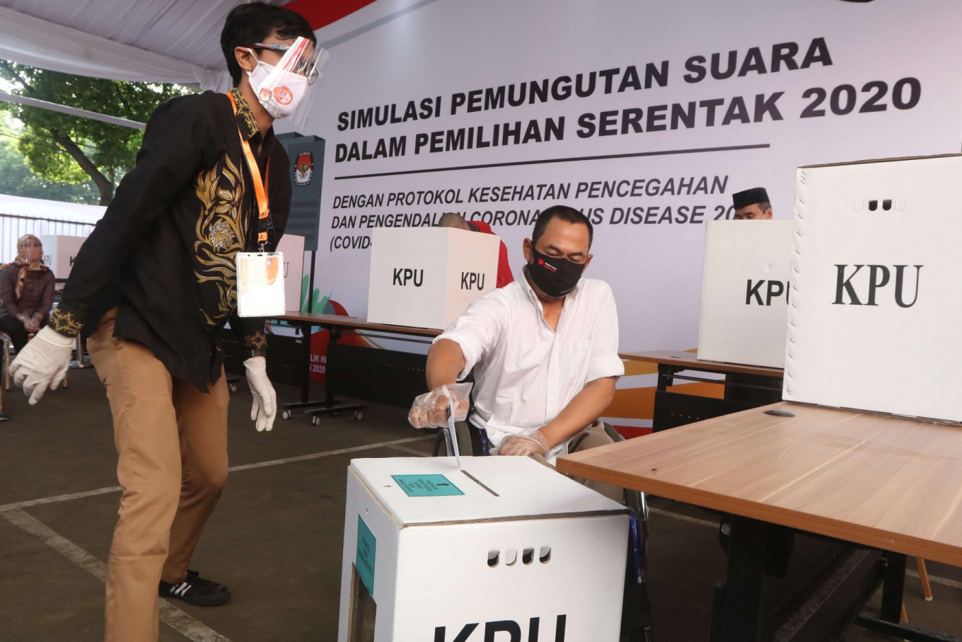 Voter safety a priority during 2020 elections, Jokowi says