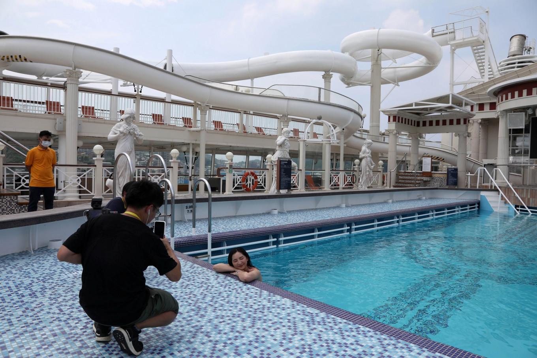 Set sail and social distance: Taiwan resumes ocean cruise amid pandemic