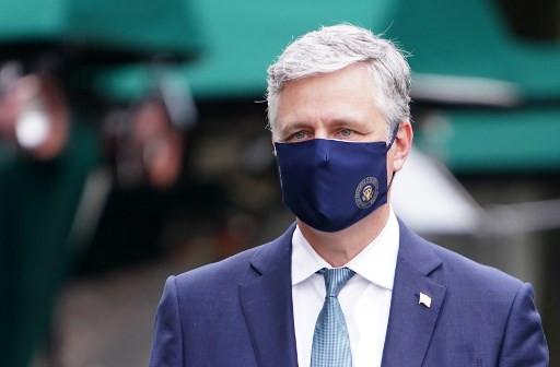 Trump national security adviser O'Brien tests positive for coronavirus