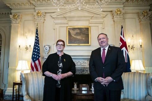 US, Australia open talks focused on China