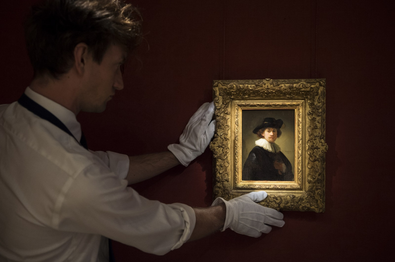 Rare Rembrandt sells for £14.5 million at UK auction