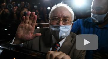 Former Malaysian PM Najib Razak sentenced to 12 years in prison for 1MDB graft